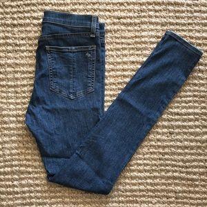 rag & bone / jeans - 10 inch skinny